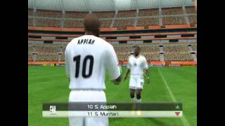 FIFA World Cup 2010 Final in PES 6: Ghana-Spain (HD 720p)
