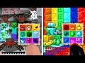 NOOB vs PRO MINECRAFT 1.14 RAINBOW BINGO CHALLENGE!