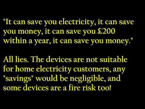 Electricity board energy saving device box Sorbet Solutions scam Indian call centre prank