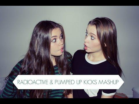Radioactive-pumped Up Kicks Cover video