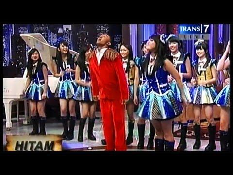 Nabilah JKT48 Joget Caesar @ Hitam Putih TRANS7 [13.08.21]