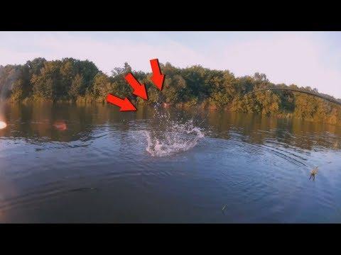 Такого исхода рыбалки я не ожидал !! Рыбалка на реке. РЕКОРД СЕЗОНА ПОБИТ !!