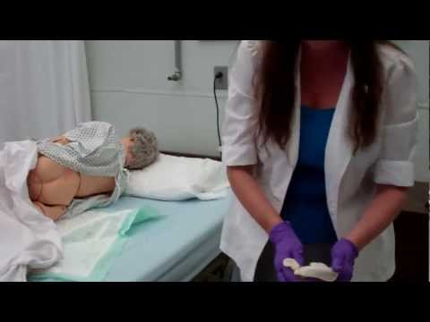 CNA ESSENTIAL SKILLS - Provide Perineal Care (Peri-care) for Female (11:17)