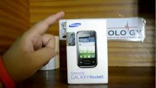 Samsung Galaxy Pocket GT-S5300 - Unboxing & Quick Look in Urdu