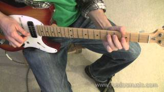 Chicken Pickin Country Guitar Fast Lick & Fingerpicking Riff - joedocmusic guitar journal Jan 2012