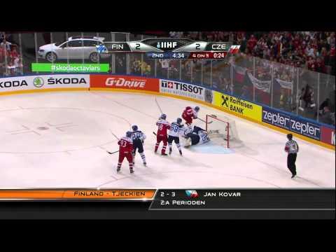 Finland vs Czech Republic 3-5 2015-05-14 IIHF 2015 WC HIGHLIGHTS Swedish/Svenska