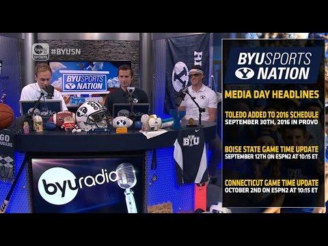 Mitch Mathews Interview BYU Sports Nation   June 23, 2015