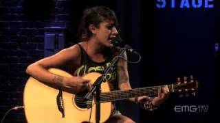 Alexia from Eyes Set to Kill, give haunting acoustic performance on EMGtv