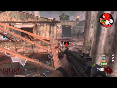 Trucos Black Ops 2 - Zombies DIE RISE Barrera en la Bobeda de la Azotea con Trampa - By ReCoB