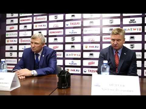 16.10.2017 | Пресс-конференция «Торпедо» – «Торос»