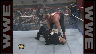 Vader attacks Gorilla Monsoon: Raw, January 22, 1996