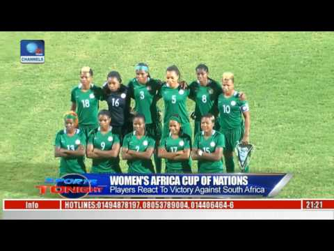 Sports Tonight: Omagbemi Proud Of Super Falcons Performance Against South Africa