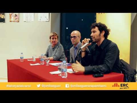 Presentació candidat Ara Parets ERC Jordi Seguer