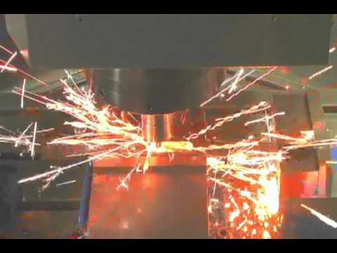 High-speed milling demos