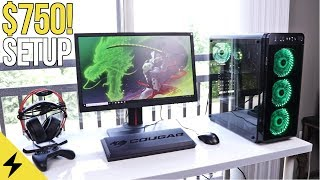 COMPLETE $750 OVERWATCH PC Gaming Setup Guide 2018!