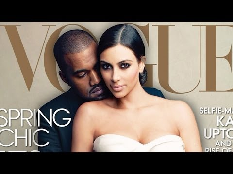 Kim Kardashian and Kanye West React To Vogue Cover