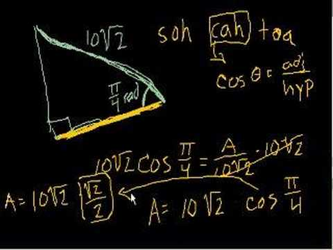Using Trig Functions