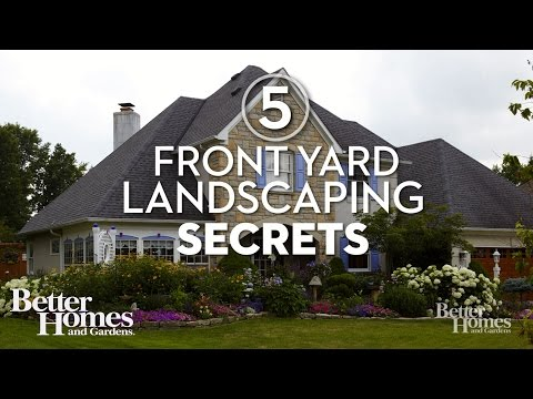 5 Front Yard Landscaping Secrets