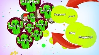 Agar.io - Destroying BIG Teams // CRAZY AGARIO GAMEPLAY