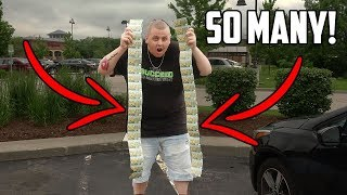 I BOUGHT SO MANY LOTTERY TICKETS IN CHICAGO! I Bought Every Lottery Ticket In The Machine!