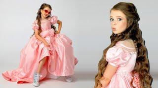 Покупаем платье принцессы для встречи с подписчиками!