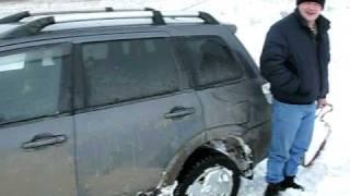Mitsubishi Outlander (тест-драйв Митсубиси Аутлендер