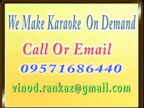 Kahe Jhoom Jhoom Raat Ye Suhaani  Karaoke   Love Marrige