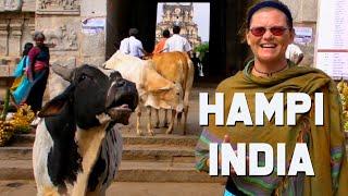 Amazing Hampi India |  Ancient Ruins of Karnataka | India Travel Vlog