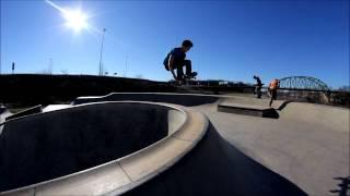 A day at the Parkersburg, WV skatepark
