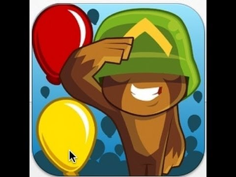 Bloons TD 5 iPhone 5 App Video Review