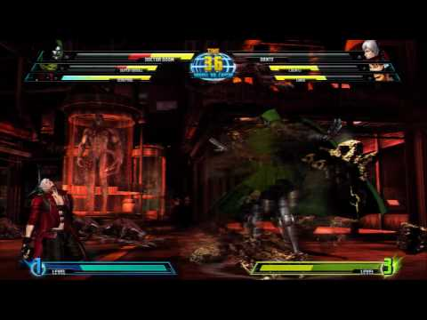 Marvel vs. Capcom 3 - Dr. Doom, Super Skrull, and Chun-Li Gameplay Video