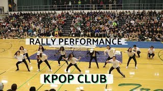 WHS KPOP Club Pep Rally Performance 2018 | Shine + DDU-DU DDU-DU + Cherry Bomb (Crazy Reaction!)