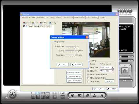Network PTZ Camera & NVR Software Setup Instructions