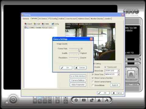 Network PTZ Camera & NVR Software Setup Instructions