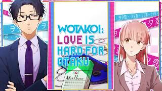 Wotakoi: Love is Hard for Otaku from Kodansha Comics