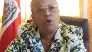 Dr Mirlande Manigat - Kreyol - Je Reclame L'annulation Des Elections
