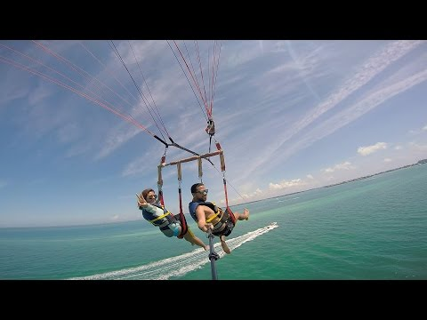 Parasailing, Snorkeling in Key West, Florida With The GoPro Hero4 Silver Edition