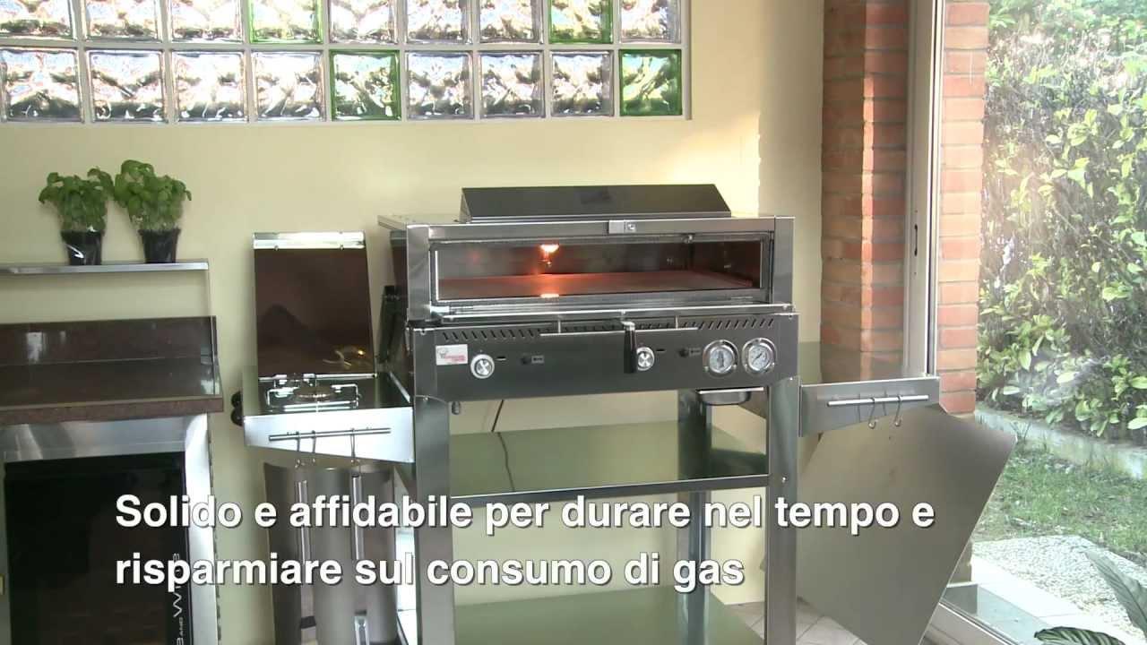 Combi l 39 innovativo barbecue forno youtube - Consumo gas cucina ...