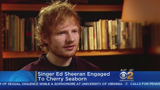 Download Lagu Pop Star Ed Sheeran Announces Engagement On Instagram Gratis STAFABAND