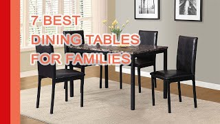 (1.64 MB) Best Dining Tables 2017 | Select The 7 Perfect Modern Dining Tables Mp3