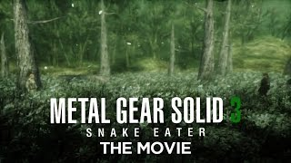 Metal Gear Solid 3 - The Movie [HD] Full Story