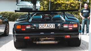 LAMBORGHINI COUNTACH 25 AND MANY OTHER AWESOME CARS!