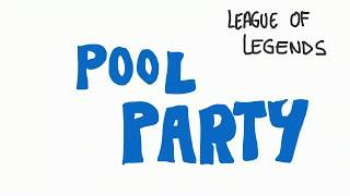League of Legends Pool Party Animation