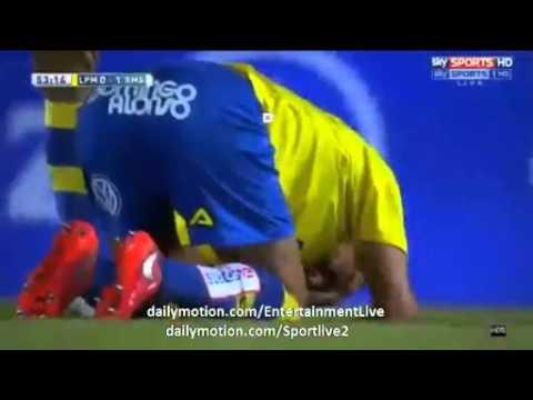 Cristiano Ronaldo Brutal INJURY Las Palmas 0 1 Real Madrid 13 03 2016