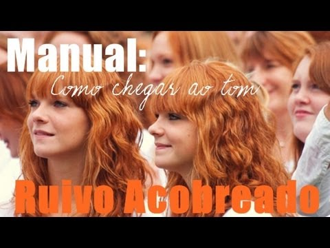 Manual: Como chegar ao tom Ruivo Acobreado