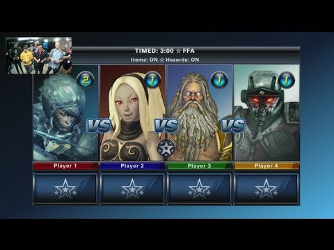 PlayStation All-Stars Battle Royale - Tournament TV
