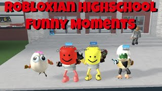 Robloxian Highschool Funny Moments