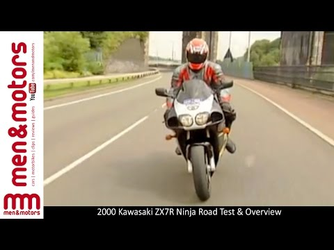 2000 Kawasaki ZX7R Ninja Road Test & Overview