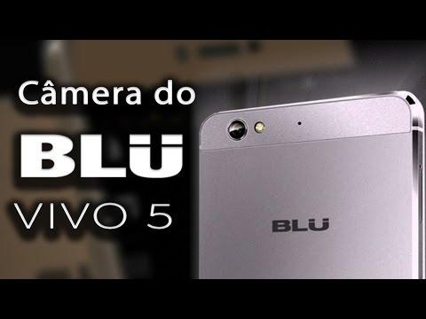 Analisando a câmera do Blu Vivo 5