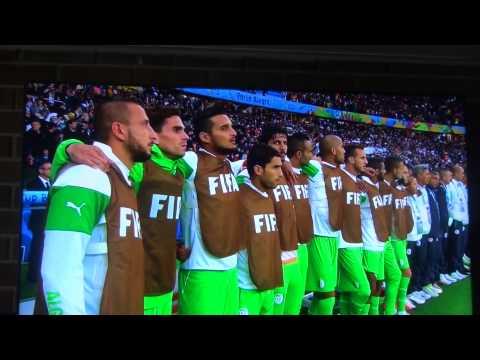 Algeria/Germany World Cup 2014